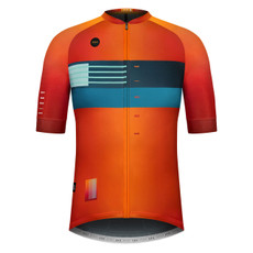 GOBIK CX Pro Unisex Sunset Short Sleeve Jersey Front