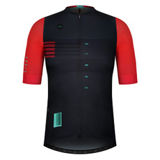 GOBIK CX Pro Unisex Savege Red Short Sleeve Jersey Front