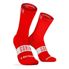 GOBIK Pure Savage Red Socks