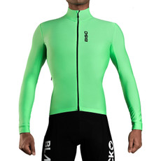 Black Sheep Elements Long Sleeve Thermal Jersey- Green