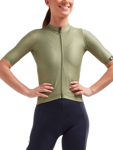 Black Sheep Essentials TEAM Moire Jersey - Women's  - Khaki Green
