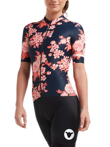 Black Sheep Women's WMN LuxLite Jersey - Navy Gardenia