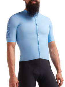 Black Sheep Men's Racing Climbers Jersey - Light Blue