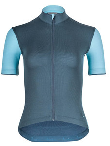 Isadore Women's Signature Cycling Jersey - Orion Blue/Aquarelle