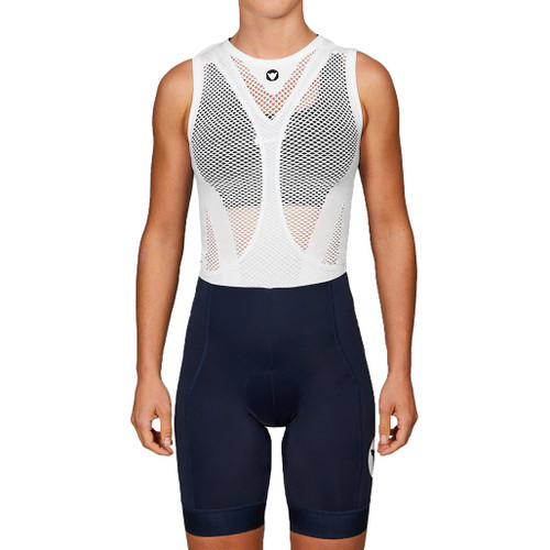 Black Sheep Women's Team Collection Bib Shorts (short length) in Navy