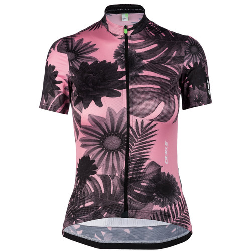 Q36.5 Short Sleeve G1 Lady Tropical Pink Jersey Front