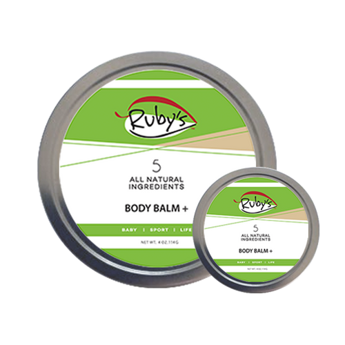 Body Balm Plus 4 oz wax tin with mini 1 oz tin