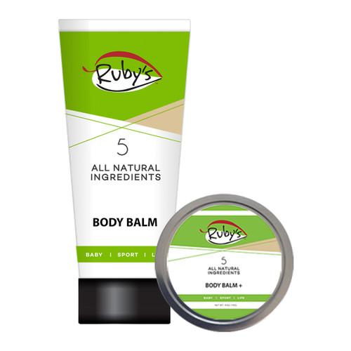 Body Balm 3 oz AND Body Balm Plus 4 oz wax Combo