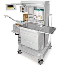 Front view of the Datex-Ohmeda Aestiva 3000 Anesthesia Machine - Refurbished