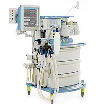 Front view of the Drager Fabius GS Anesthesia Machine -Refurbished