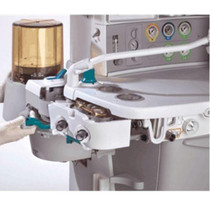 Detailed view of the Datex-Ohmeda Aespire 7900 Anesthesia Machine -Refurbished
