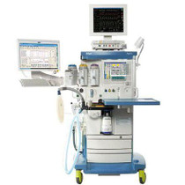 Front view of the standard Drager Apollo Anesthesia Machine - Refurbished