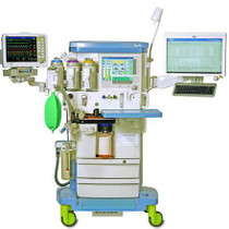 Front view of the Drager Apollo Anesthesia Machine - Refurbished with Volume Auto Flow Mode