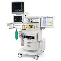 Front view of the GE Aisys Carestation Anesthesia Machine - Refurbished