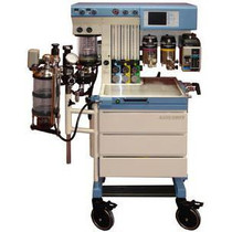 Front view of the Drager Narkomed GS Anesthesia Machine - Refurbished