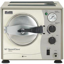 Front view of the current model for the Midmark M7 SpeedClave Sterilizer - Refurbished