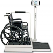 Stationary Digital Wheelchair Scale 6495
