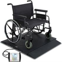 Detecto Digital Portable Bariatric Wheelchair Scale BRW1000