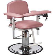Clinton H Series Padded Hydraulic Blood Drawing Chair