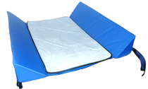 Skil-Care Bed Support System w/Attached 30-Degree Bolsters Nylon Bottom & Pad