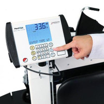 Detecto 6570 Portable Wheelchair Scale with Handrail and Seat