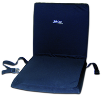 """Skil-Care Wheelchair 16"""" Backrest Seat Combo w/X-Gel Coccyx Seat Cushion"""