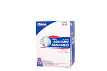 "7617 Plastic Adhesive Bandages 1""x 3"" Sterile"