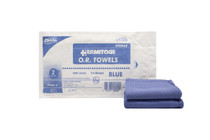 """Dukal™ CT-02B OR Towel CSR Wrap Softpack 17""""x 26"""" Bl Sterile"""
