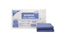 "CT-04B OR Towel CSR Wrap Softpack 17""x 26"" Blue Sterile"