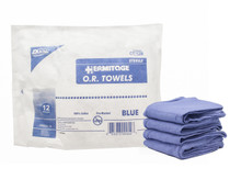 "CT-12B OR Towel CSR Wrap Softpack 17""x 26"" Blue Sterile"