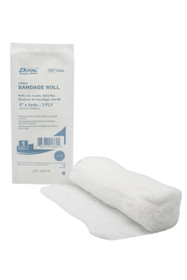 """Dukal™ 8644 Fluff Bandage Roll 6""""x 4 yds 3-ply Sterile"""