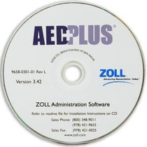 AED Administration Software CD-ROM