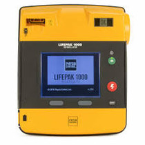 Physio-Control Lifepak 1000 AED w/ Padds battery and case - Refurbished