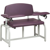 Clinton Lab X Bariatric Padded Blood Drawing Chair