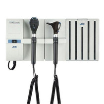 ADC Adstation 56102 3.5V Wall Otoscope/Coax Plus Ophthalmoscope Diagnostic Set