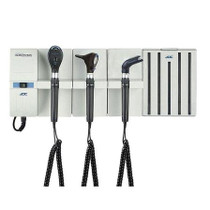 ADC Adstation 56102-6 3.5V Wall Otoscope/Coax Plus Ophthalmoscope/Throat Illuminator Diagnostic Set