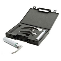 ADC Satin Fiber Optic Laryngoscope Set