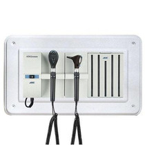 ADC Adstation 56102 3.5V Wall Otoscope/Coax Plus Ophthalmoscope Diagnostic Set with Wallboard