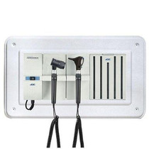 ADC Adstation 5611-35 3.5V Wall Otoscope/Dermascope Diagnostic Set with Wallboard