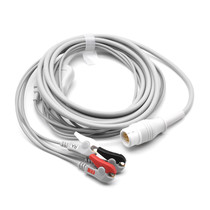 Philips ECG Compatible 12 Pin 3 Leads - Grabber
