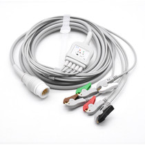 Philips ECG Compatible 12 Pin 5 Leads - Grabber