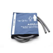 NIBP Reusable Cuff Blood Pressure Double Hose - Adult