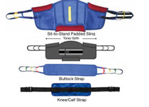 Graham Field Bath Safety Sit-to-Stand Padded Slings