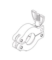 Clamp (10KF & 16KF) Replacement OEM Part # (OEM Part # Not Available) RXC063