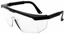 Graham Field Safety Glasses with Side shields in Black Frame (9677)