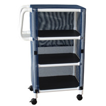 Graham Field PVC Linen Cart With Cover