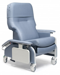 Graham Field Lumex Deluxe Clinical Care Recliner With Drop Arms