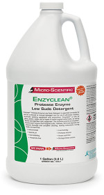 Micro-Scientific Enzcylean Protease Enzyme Low Suds Detergent Gallon