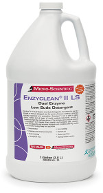 Micro-Scientific Z6 Enzyclean II LS Dual Enzyme Low Suds Detergent 1Gallon