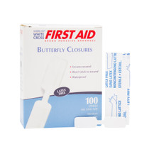 """Dukal™ Butterfly Adhesive Bandages 13/32"""" x 1-13/16"""""""